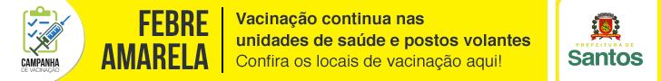 Prefeitura Santos febre amarela