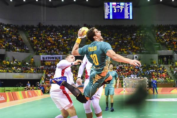 d6811b75f758d Handebol masculino do Brasil volta aos Jogos com vitória - Diário do Litoral