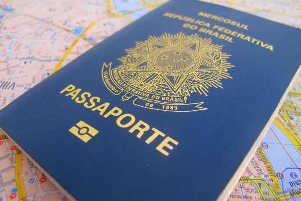 Produção de passaportes está suspensa no Brasil devido a crise