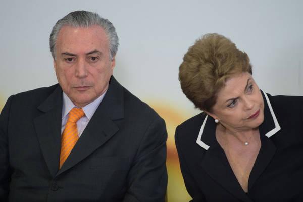 Ministro libera ação contra chapa Dilma-Temer para julgamento