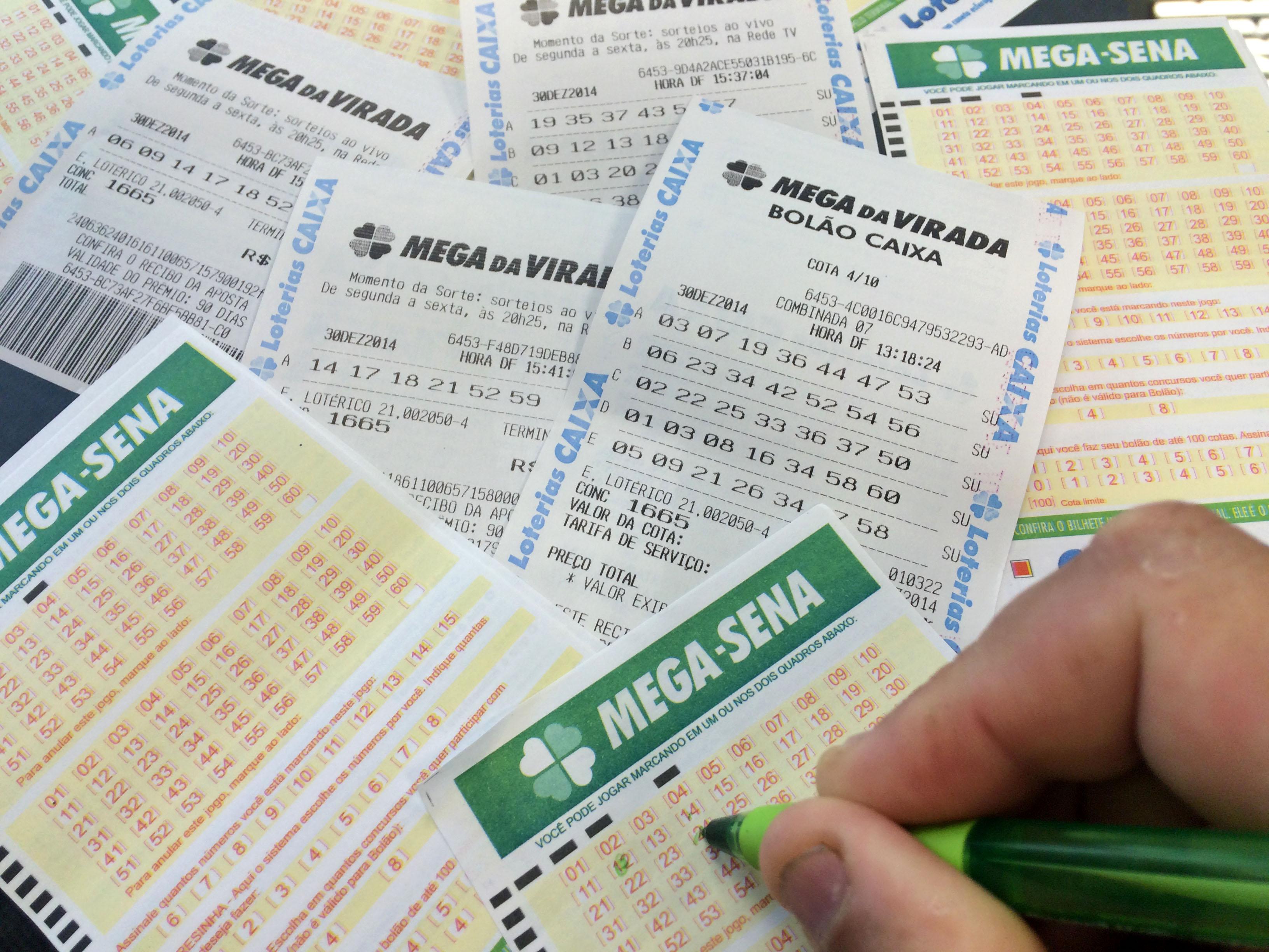 Mega-Sena acumula e pode pagar R$ 30 milhões no sábado