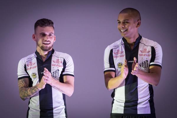 370325b181 Santos lançará uniforme 2 nesta quinta  estreia pode ser no clássico ...