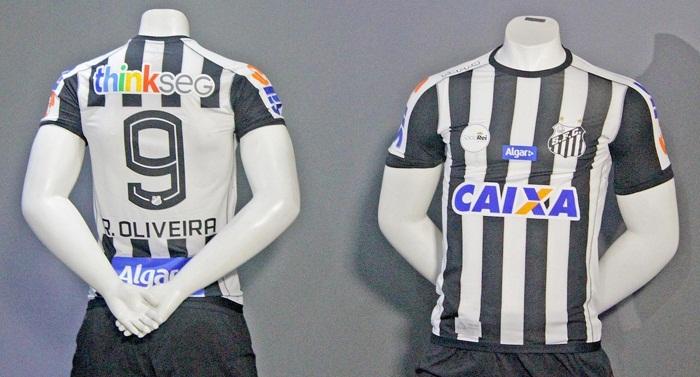 9554bdb37a Santos lança novo uniforme e estreia será no clássico contra o ...