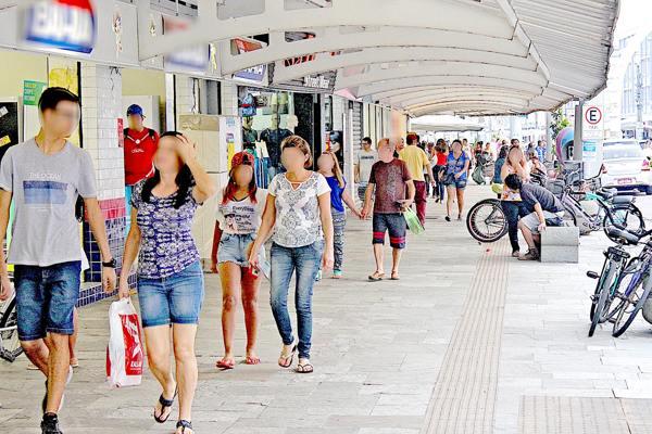 O Boqueirão, onde o movimento de turistas é intenso, seria um dos principais alvos dos marginais