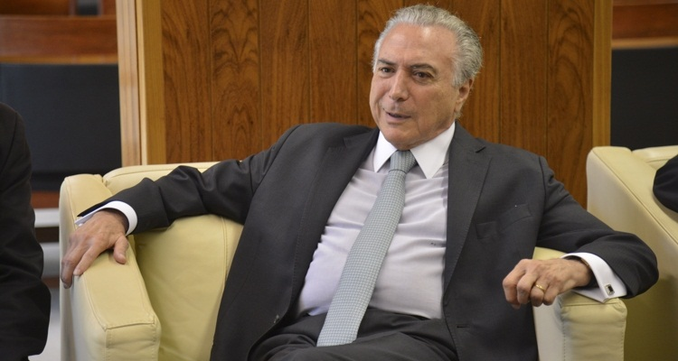 Temer defendeu que se monte uma comissão de debates no governo integrada por representantes dos sindicatos e do Legislativo