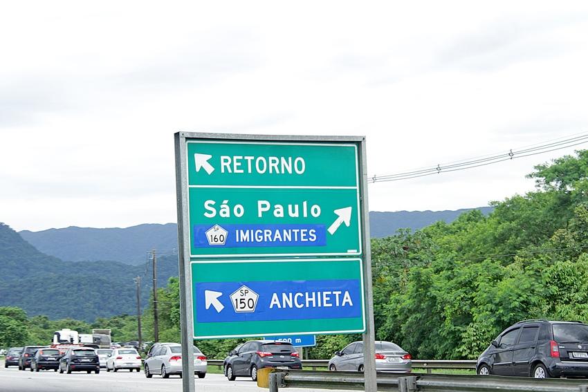 A pista sul da rodovia dos Imigrantes já foi liberada para a subida