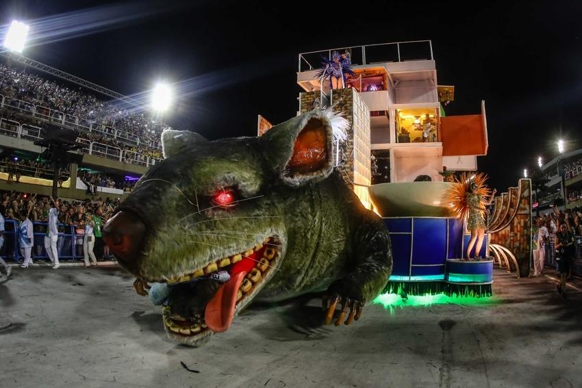 ABeija-Flor ganhou o Carnaval do Rio em 2018