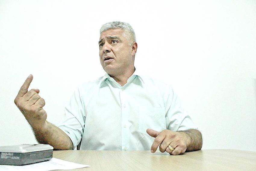 Major Olimpio (Solidariedade) foi taxativo em recente visita à Redação do Diário