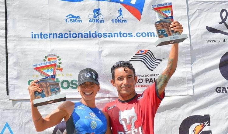 Bia Neres e Flávio Queiroga venceram a prova em 2017