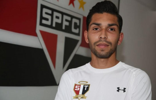 Petros será desfalque do Tricolor na partida de quinta-feira, contra o CSA, no estádio Rei Pelé, em Maceió