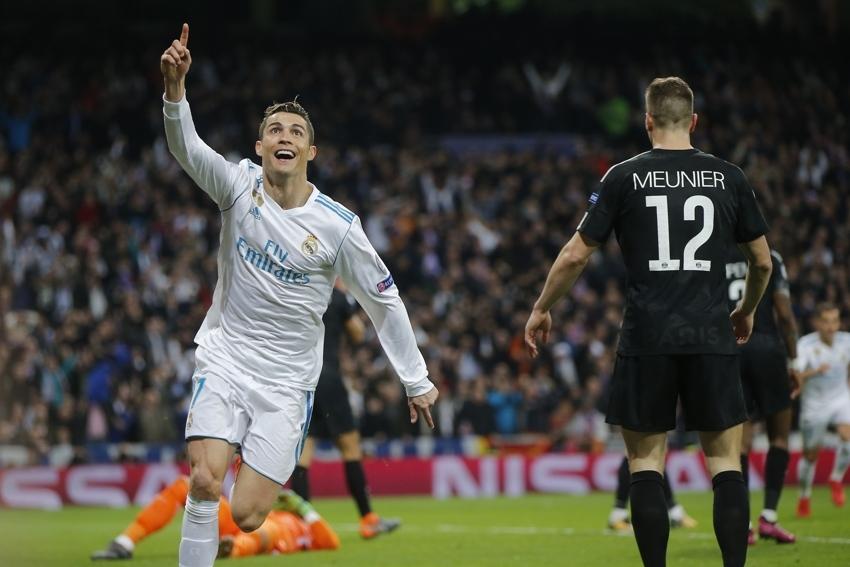 Cristiano Ronaldo marcou duas vezes na vitória do Real Madrid
