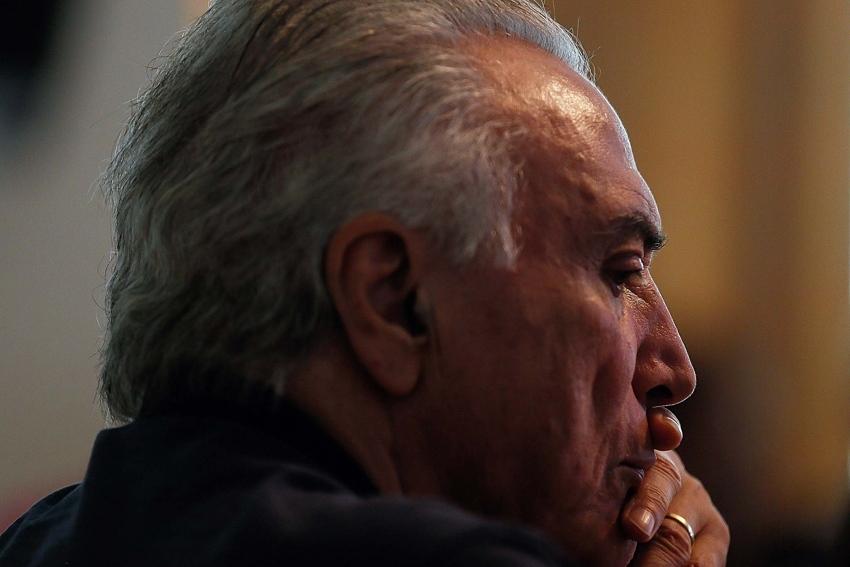 Michel Temer não respondeu se o diretor-geral da Polícia Federal, Fernando Segovia, tem condições de seguir no cargo