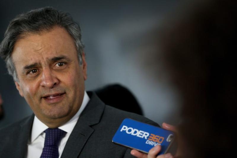 Aécio afirmou que não huove aumento de seu patrimônio após a eleição de 2014