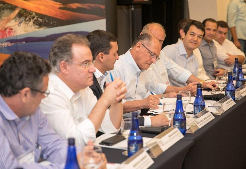 O evento contou com a presença de 29 dos 70 prefeitos das estâncias turísticas paulistas
