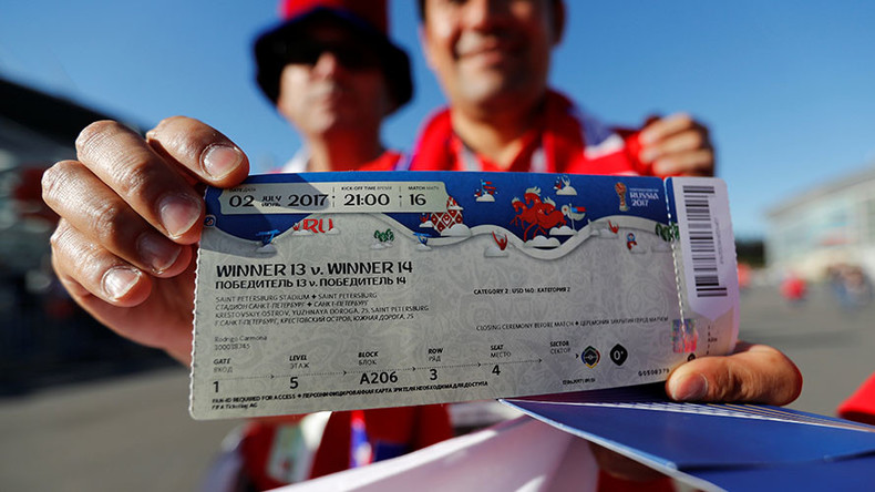 A Fifa anunciou na segunda-feira (12) a nova parcial sobre a venda de ingressos para o Mundial de 2018