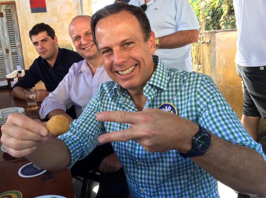 Justiça proíbe Doria de usar slogan 'Acelera SP' nas redes sociais