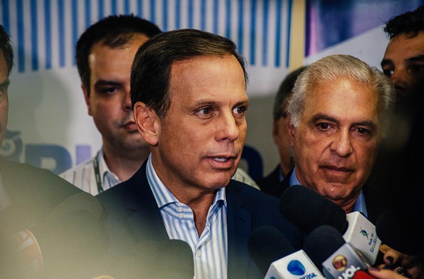 Candidato a governador, Doria já critica prefeito de São Paulo