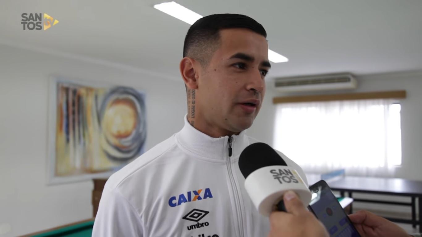 a83a7c3779 Reforço paraguaio do Santos revela conselhos de Romero - Diário do Litoral