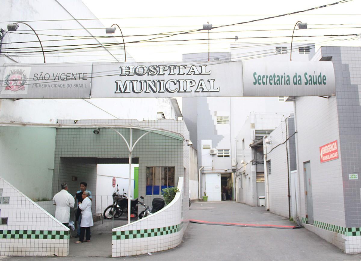 Menino foi levado ao Hospital Municipal de São Vicente