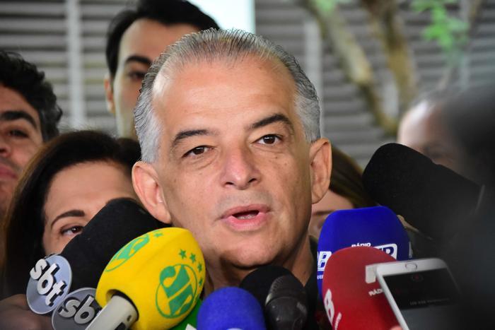 Márcio França diz que prometeu a vice que não se aliaria ao PT