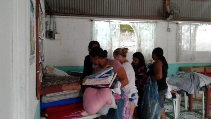 Os produtos resultaram de doações realizadas nas últimas semanas pela comunidade e por diversas empresas da região..