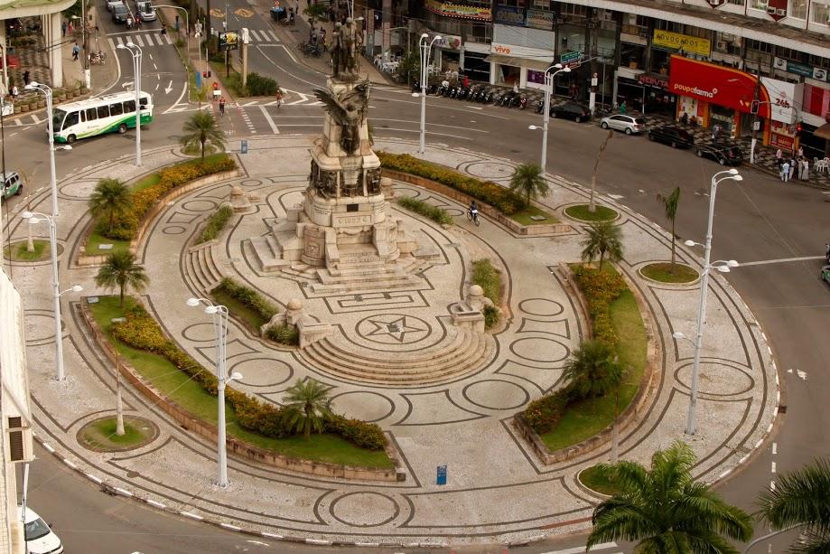 A Praça da Independência vai ser reurbanizada