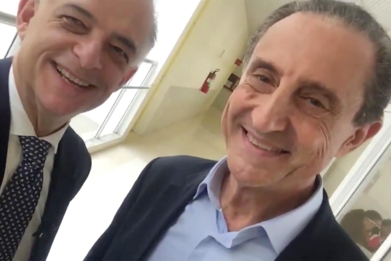 Skaf e Márcio França se unem