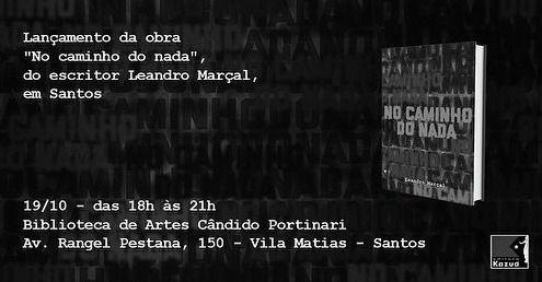 Santos recebe o lançamento oficial da obra no próximo dia 19, na Biblioteca das Artes Cândido Portinari