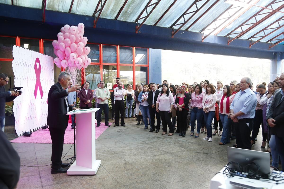 Os anúncios foram feitos pelo prefeito Válter Suman durante a abertura oficial da campanha Outubro Rosa