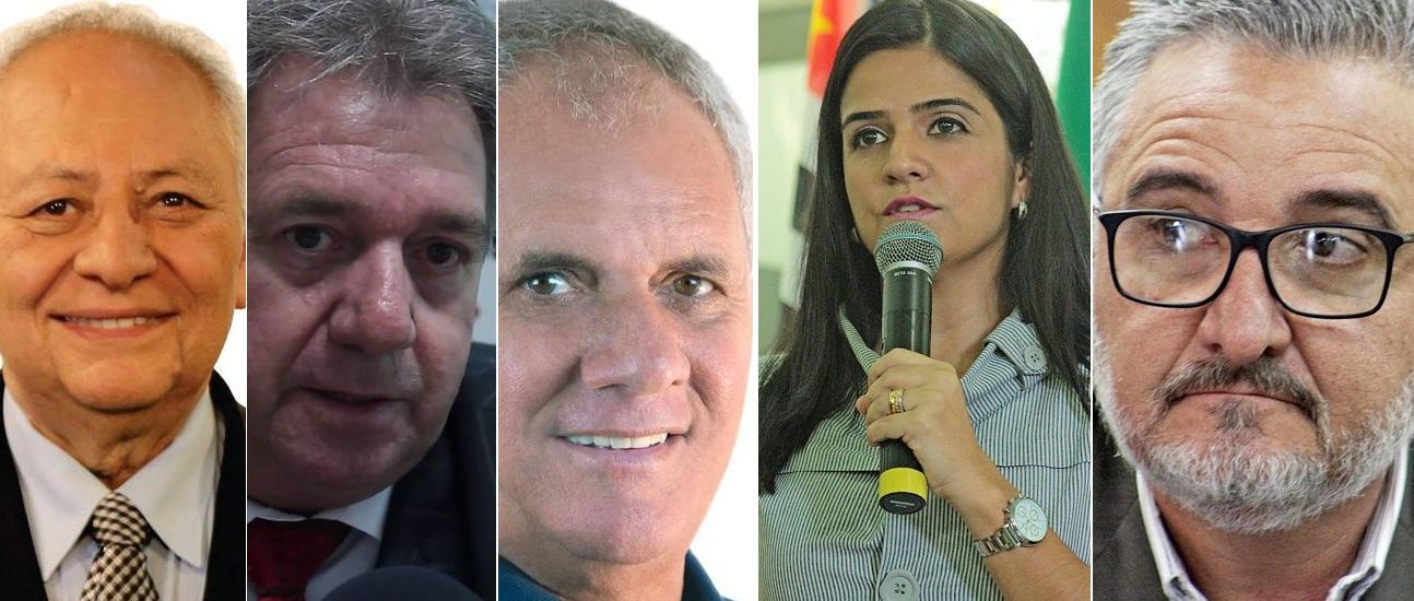 Demais membros da Mesa Diretora: Manoel Constantino (PSDB); Audrey Kleys (Prog); Geonísio Pereira de Aguiar, o Boquinha (PSDB) e José Teixeira Filho, o Zequinha Teixeira (PSD)