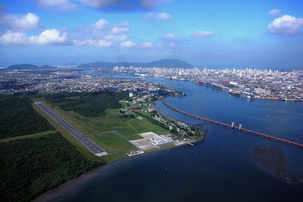 Voa-SP vai disputar aeroporto de Guarujá - Diário do Litoral