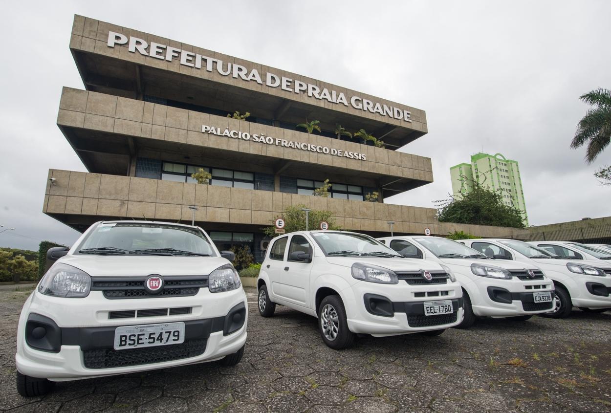 Prefeitura de Praia Grande recebe 8 veículos em doação - Diário do Litoral