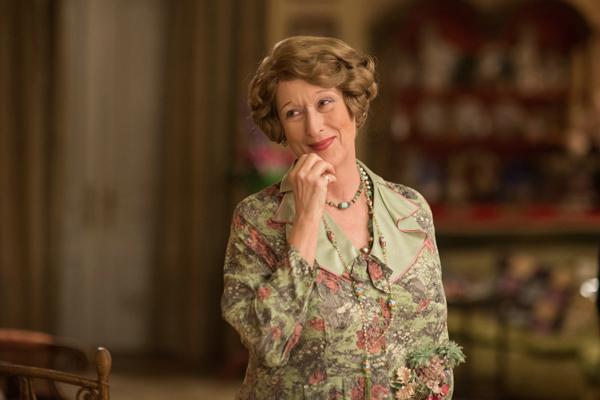 """Meryl Streep recebe sua 20 ª indicação, quebrando o próprio recorde, e concorre ao seu quarto prêmio por sua atuação na comédia musical """"Florence: Quem é Essa Mulher?"""