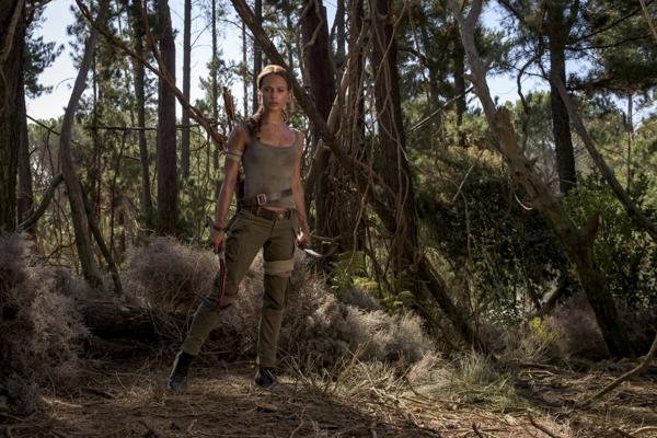 Alicia Vikander como Lara Croft em Tom Raider (Foto: Divulgação)