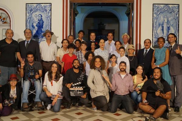 Elenco e equipe técnica do filme (Divulgação)