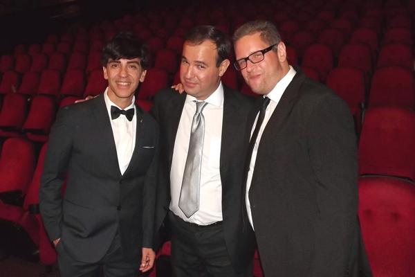 O cinéfilo Waldemar Lopes e os jornalistas Gustavo Klein e André Azenha comentarão as premiações do Oscar no dia 26, no Roxy 5 (Foto: Divulgação)